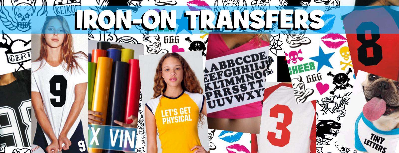 Iron On Transfers