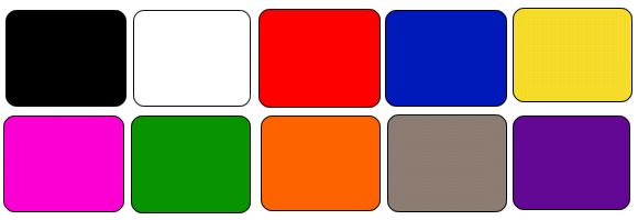 Spotpro colors