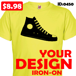 custom MY DESIGN Iron-on transfer