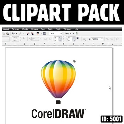 Clipart Graphics Corel X3