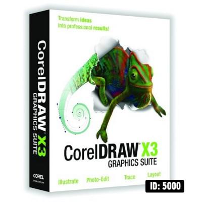CorelDRAW Graphics X3
