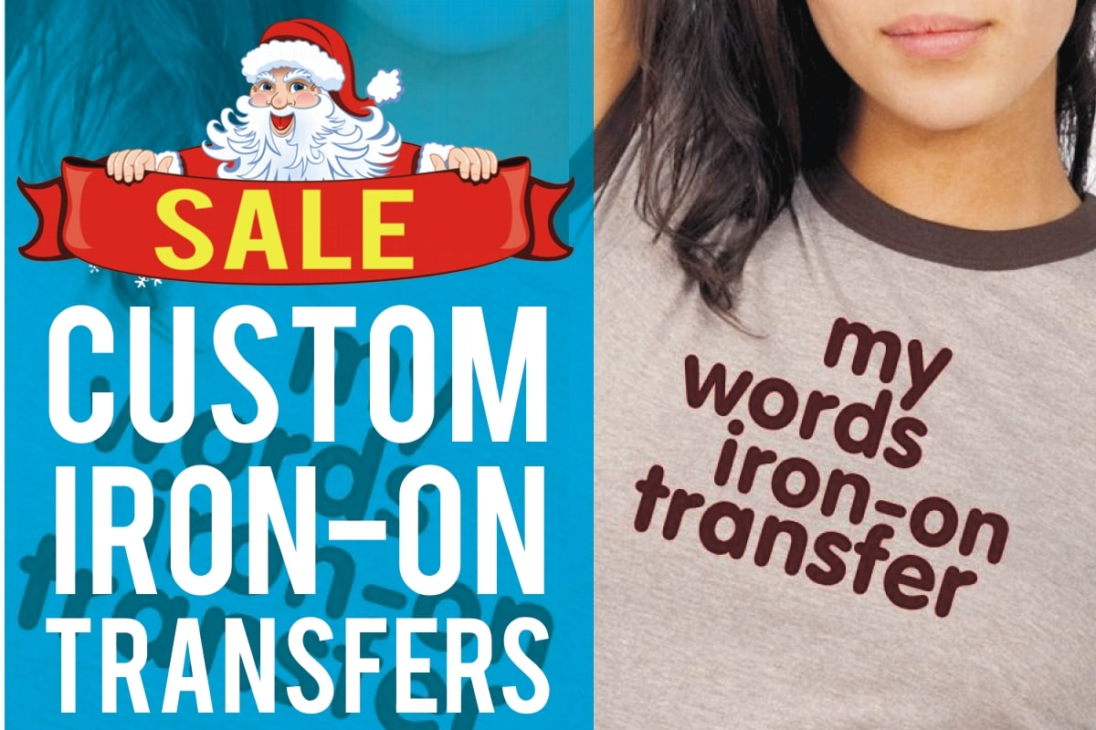 Your words iron-on transfer
