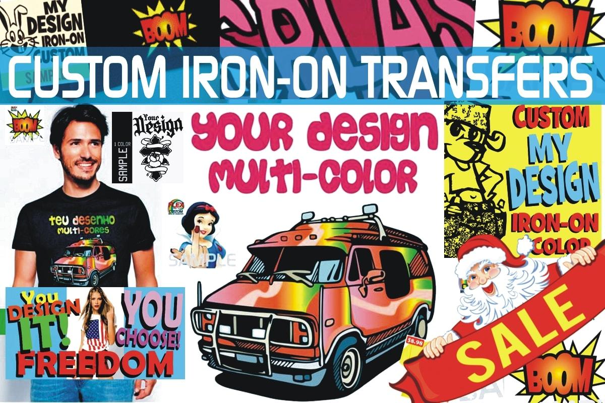 Custom Iron-on Transfers