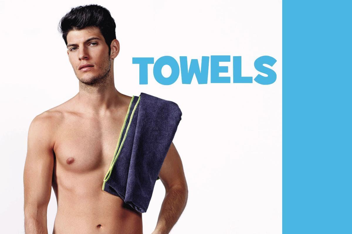 Blank towels