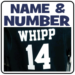 Custom Name and Number Sets