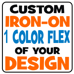 FLEX Custom Iron-on Transfers
