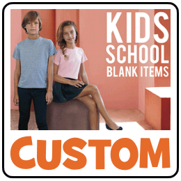 Custom School clothing