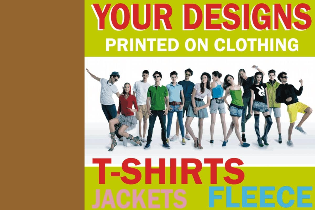 Custom Printing on Clothing