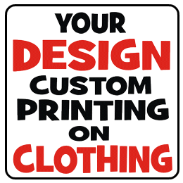 Custom printing your design on clothing