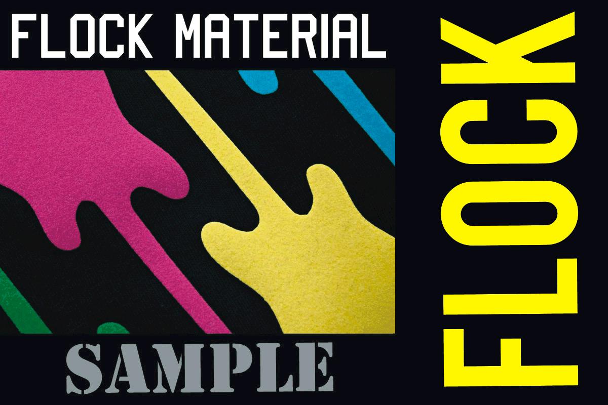 Flock Transfer Materials
