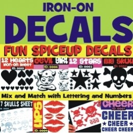 Iron-on Decals