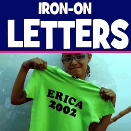 Iron-on Letters