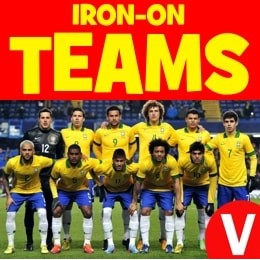 Iron-on Team Kits