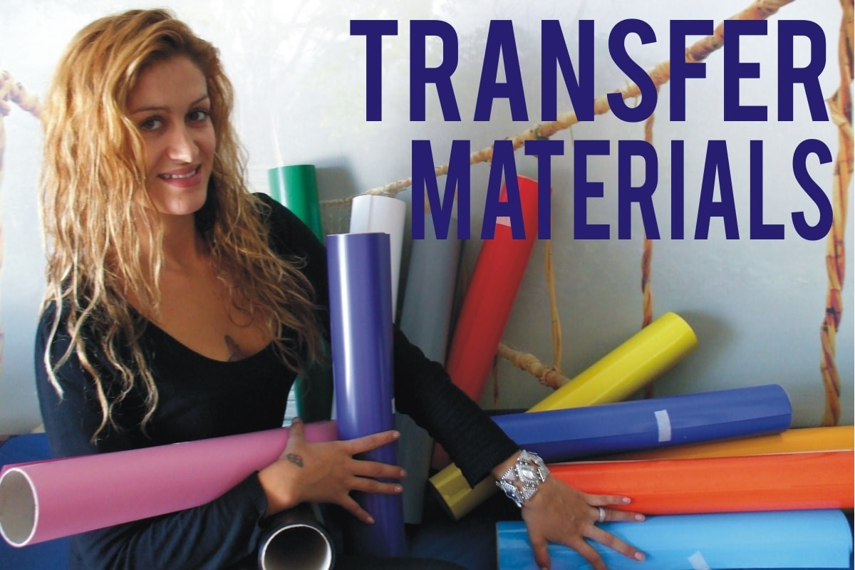 Iron-on Transfer Materials