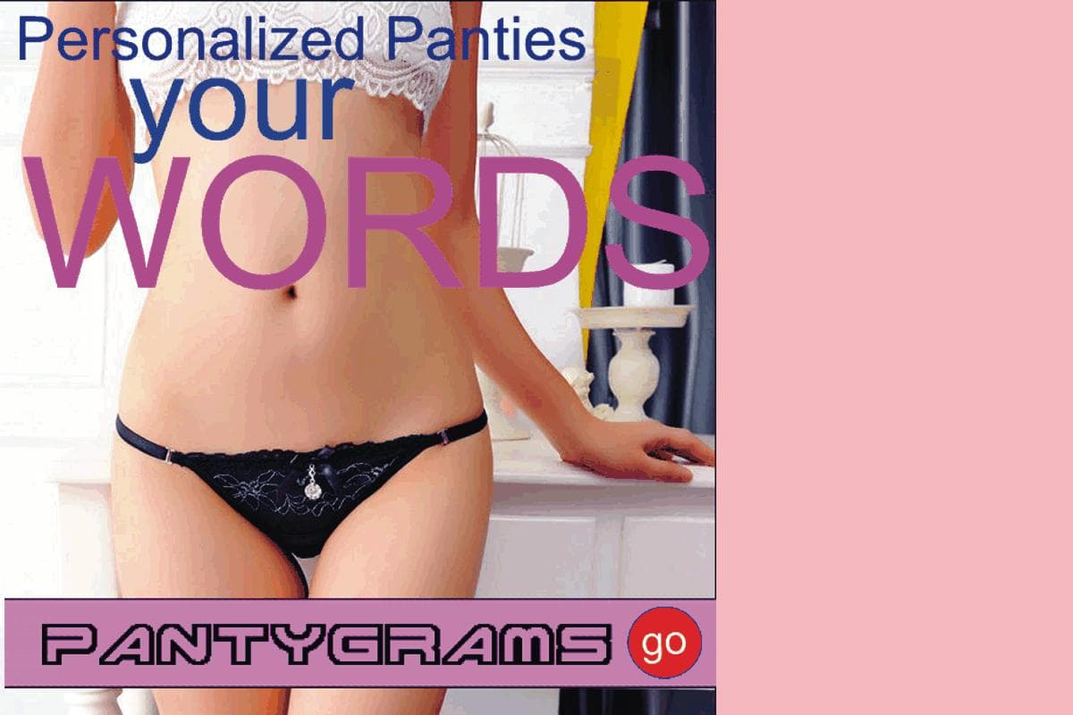 Custom Panty Pantygrams