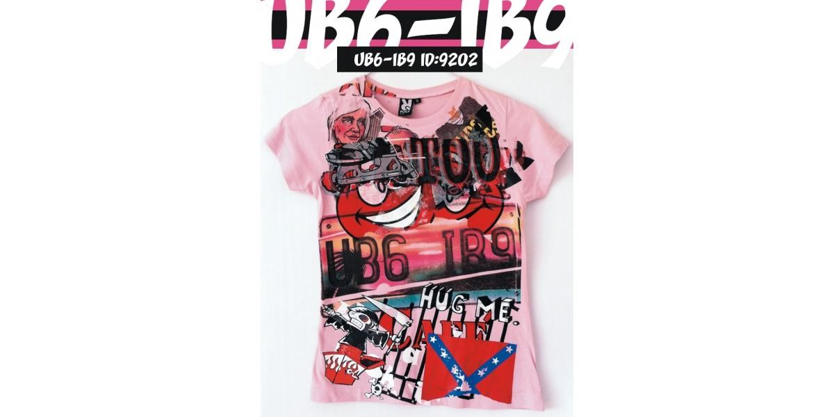 UB6IB9 Art Shirt Sted