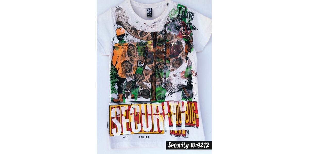 security Love Art Shirt Sted