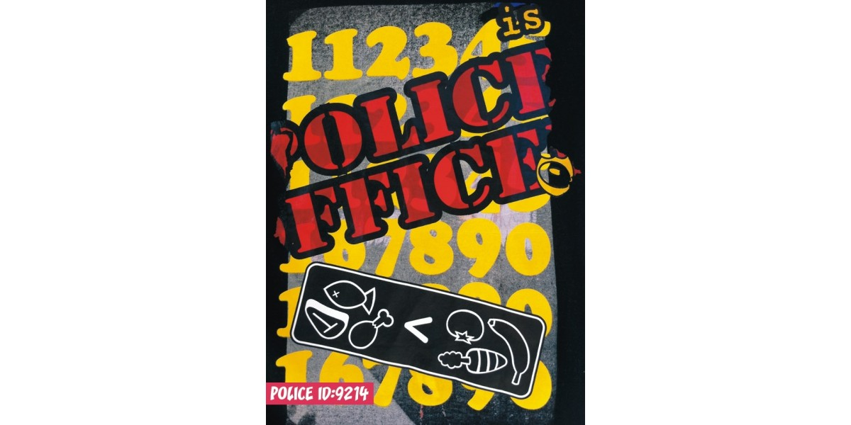 Police Love Art Shirt Sted