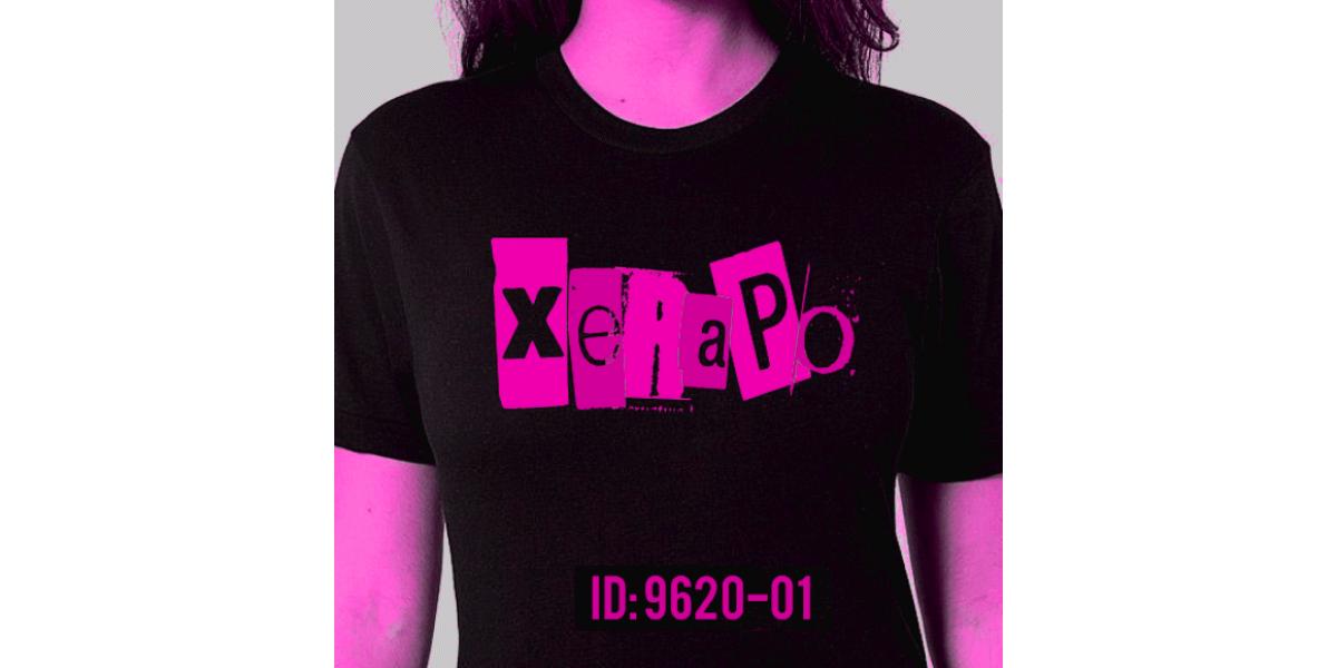 Pink logo girls tee XeiraPO