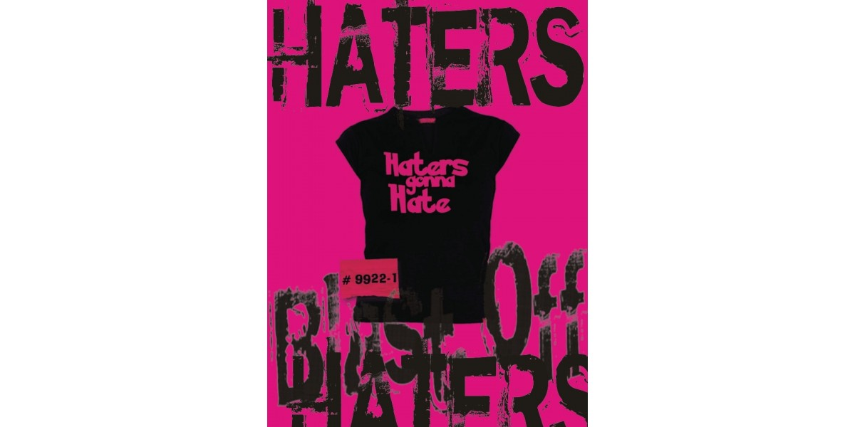 hater gone hate pink