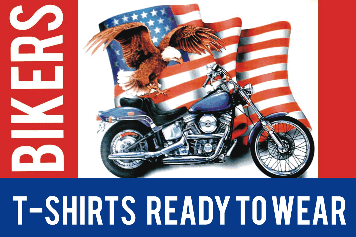 Vintage Biker T-Shirts