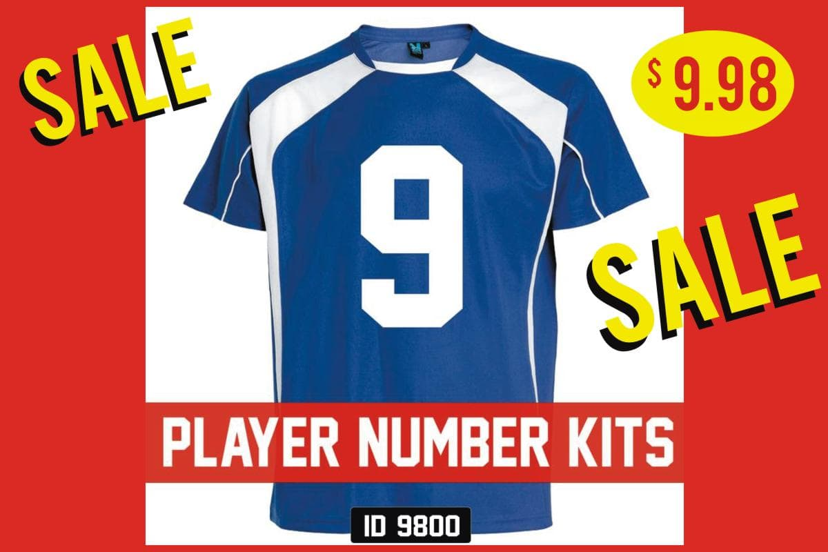 Player Number Kits