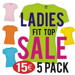 Jamaica Ladies Top 5 Pack