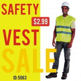 Safety Vest One size Unisex