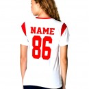 Name & Number iron-on