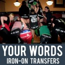 Custom Your Words Iron-on