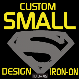 My Small Design Flex Iron-On Transfer - 1 Color