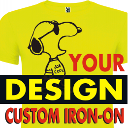 Custom Iron-on Transfers of Your designs.