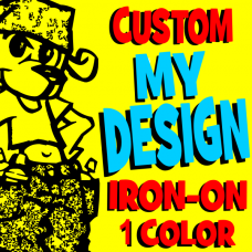 My Design Flex Iron-On 1 Color
