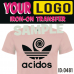 Logo Custom Iron-on Transfers