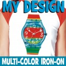 My Design MultiColor Iron-On WHITE