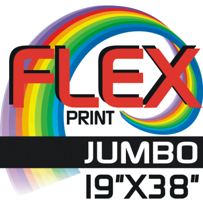 Custom Flex Print JUMBO SIZE Iron-on
