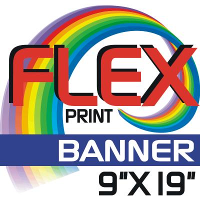 Custom Flex Print BANNER Size Iron-on