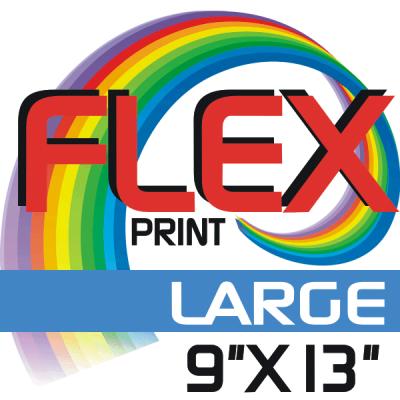 Custom Flex Print LARGE Size Iron-on