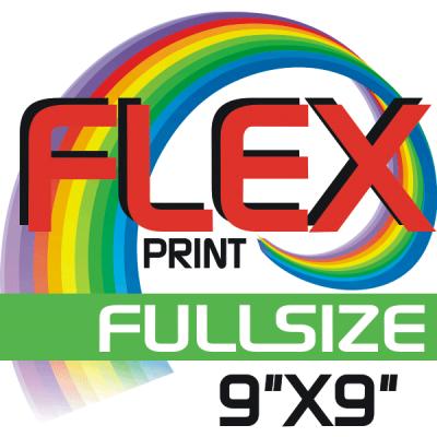Custom Flex Print Full Size Iron-on