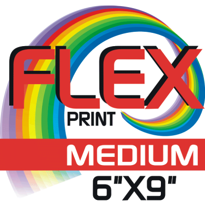 Custom Flex Print Medium Iron-on