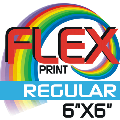 Custom Flex Print Regular Size Iron-on