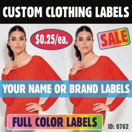 Clothing Iron-on Labels