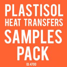 Plastisol Transfers Samples