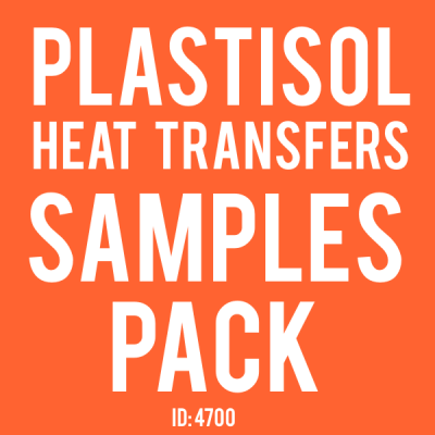 Plastisol Transfers Samples