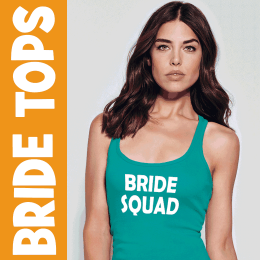 Custom Bride T-Shirt Tops