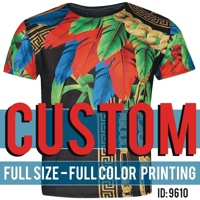 Sublimated Printing Custom T-Shirts