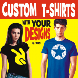 Custom T-Shirts and Tops