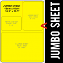 Jumbo Size Transfer Sheet 1 Color Designs Custom Plastisol Transfers