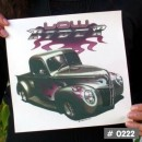 Vintage Hotrod Cars Iron-on Decals. 24 Designs