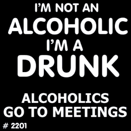 Alcoholic T-Shirt Decal